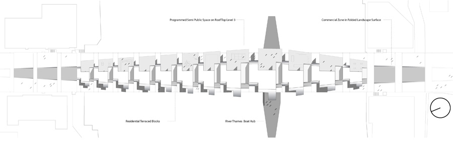 Living Bridge - London Bridge, Competition, Inhabitable Bridge, Rocker-Lange Architects, Christian J Lange