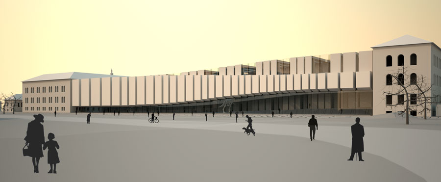 Rocker Lange Architects, Museum of Natural History, Copenhagen, Christian J Lange