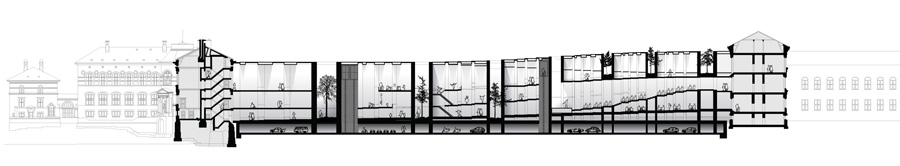 Rocker Lange Architects, Museum of Natural History, Competition, Copenhagen, Christian J Lange