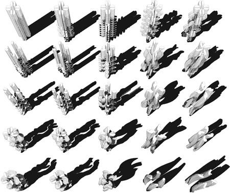 Parametric Architecture, Venice Biennale, 2010, Architecture, Rocker Lange Architects, Hong Kong Pavilion, Quotidian Architectures, Christian J. Lange, Ingeborg Rocker, Parametric Architecture, parametric tower