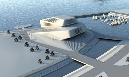 Busan Opera House, Rocker Lange Architects, Christian J. Lange, Ingeborg Rocker, Topological Architecture, Knot Architecture