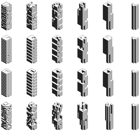 Density  Openness Revisited: Recoding Building Bulk in Hong Kong, Hong Kong Shenzhen Biennale 2012, 2011, Rocker Lange Architects, Christian J. Lange, Ingeborg Rocker, Architecture