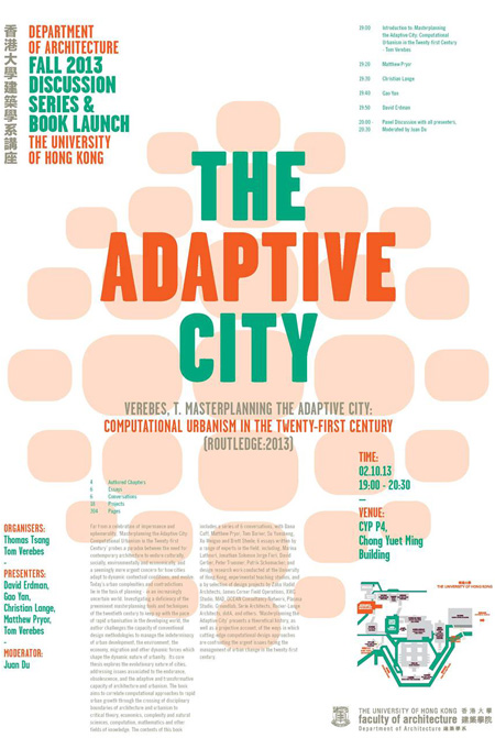 masterplanning_adaptive_city_02, Tom Verebes, Christian J. Lange, Rocker Lange Architects