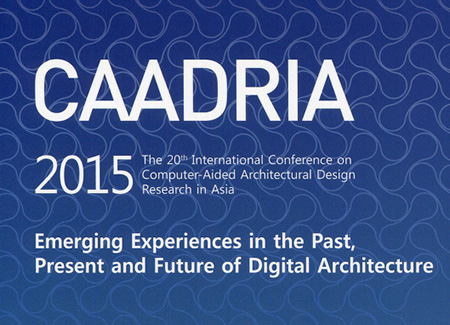 CAADRIA 2015, Rocker Lange Architects, Christian J Lange