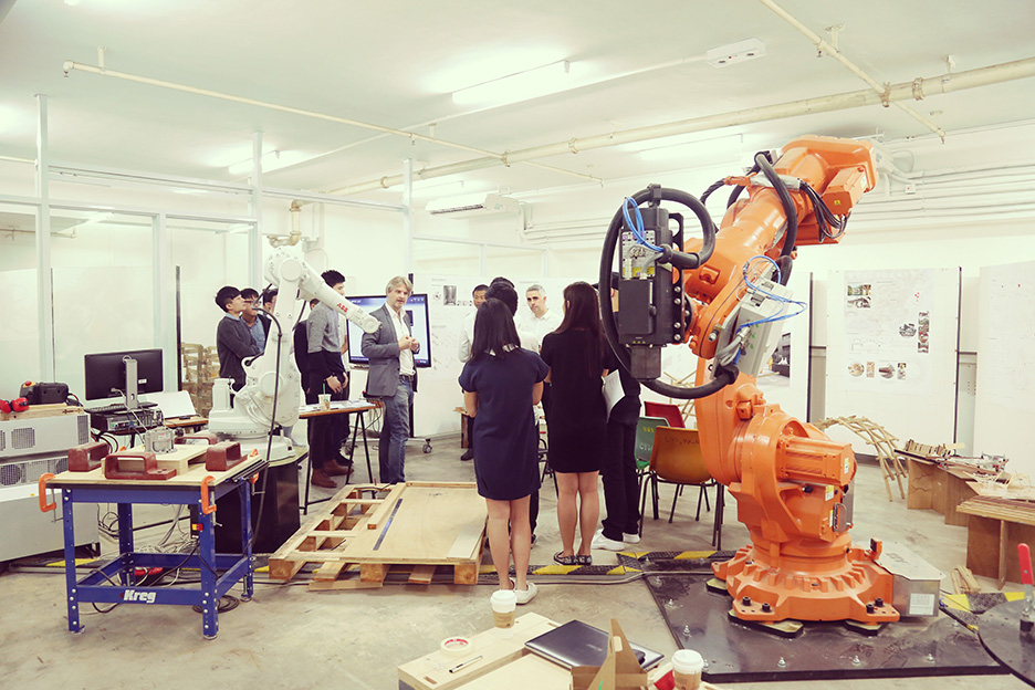 robotic fabrication lab, HKU, The University of Hong Kong, Faculty of Architecture, China, Christian Lange, Rocker Lange Architects