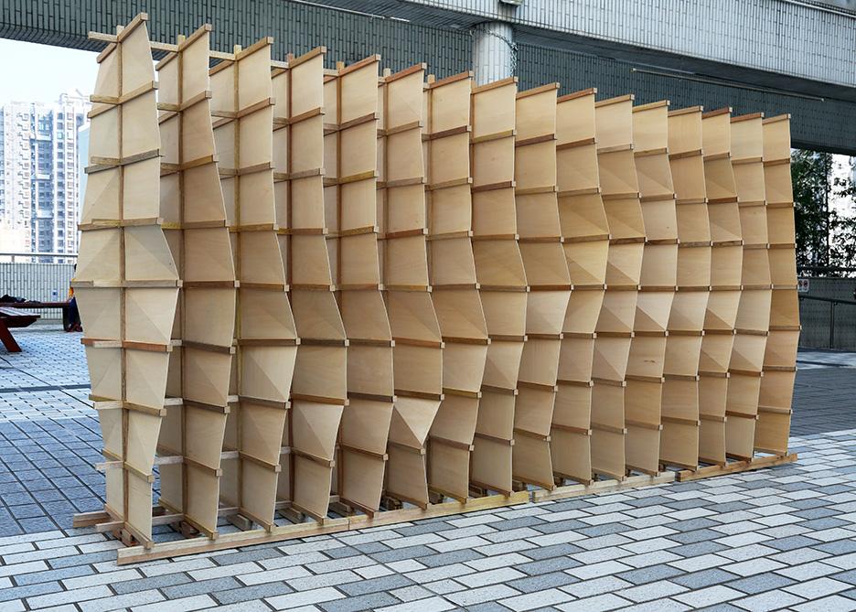 Luban Lock, Chidori  system, robotics, Hong Kong, Architecture