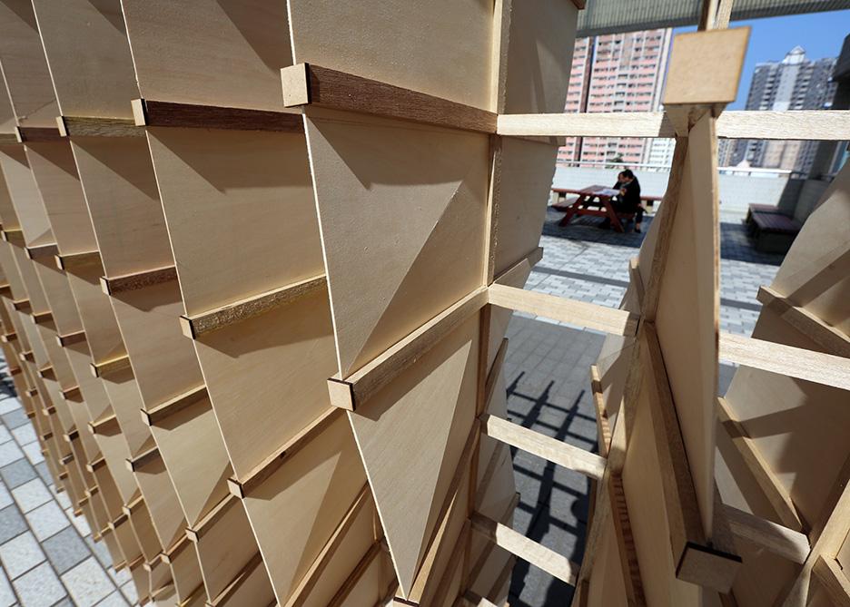 Luban Lock, Chidori  system, robotics, Hong Kong, Architecture, Christian Lange