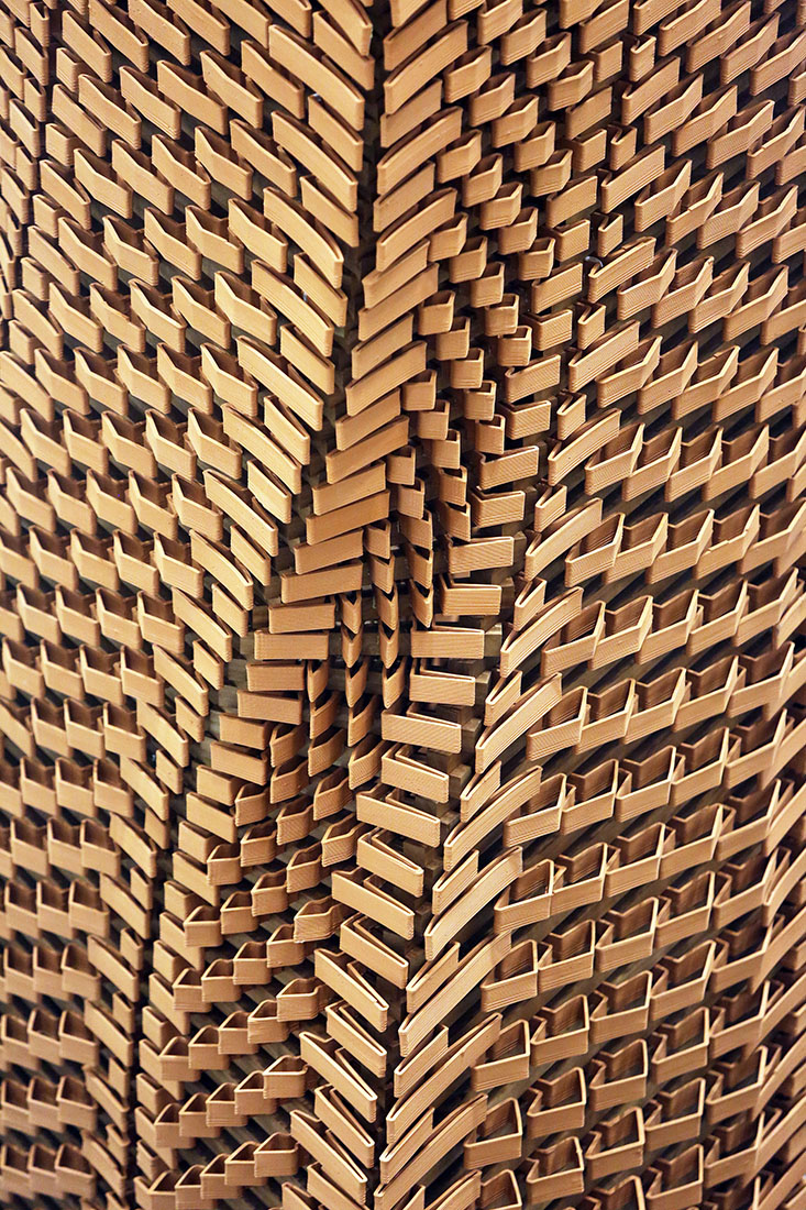 Robotic Architecture, Hong Kong, Rocker Lange Architects, China, 3d printed ceramic architecture, brick facade