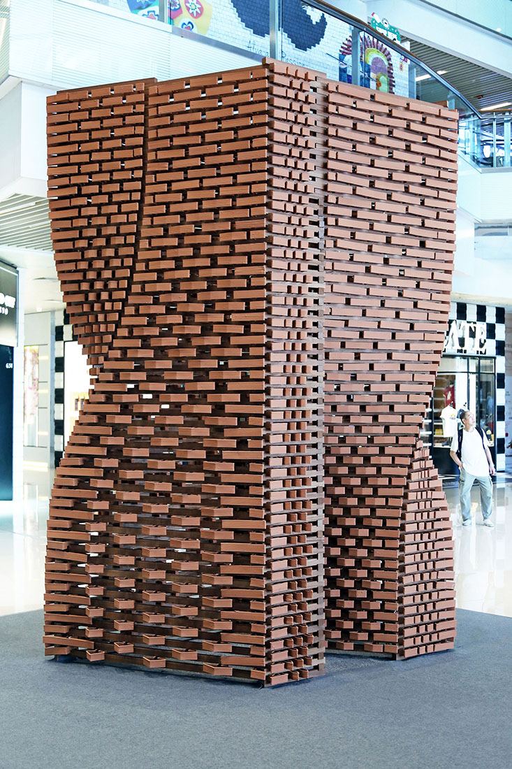 robotically manufactured bricks, Christian J. Lange, The University of Hong Kong, Robotic Fabrication LAB, 3d printed ceramics