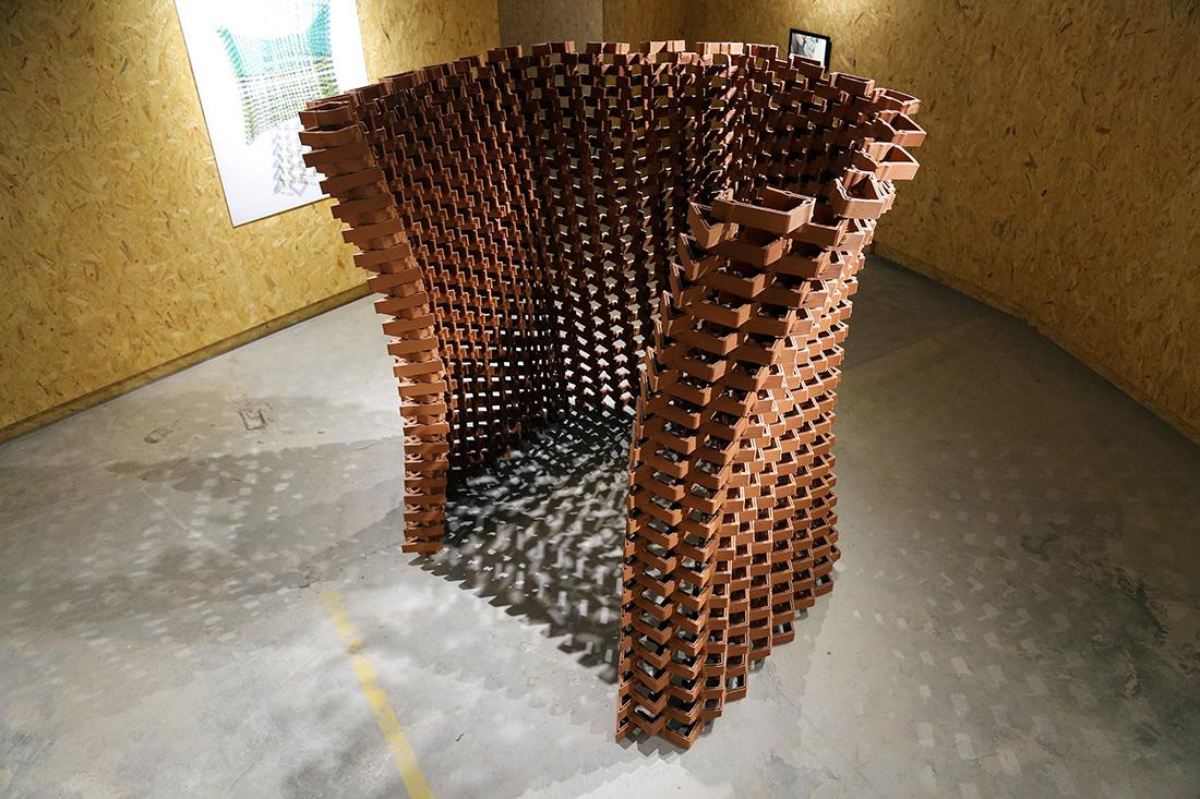 CeramicINformation Pavilion, Shenzhen Biennale 2018, HKUrbanLAB, The University of Hong Kong, Robotic 3d printing, Christian J. Lange