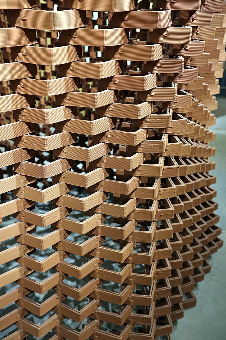 Robotic Brick Facade, Shenzhen Biennale 2018, Department of Architecture, The University of Hong Kong, HKU