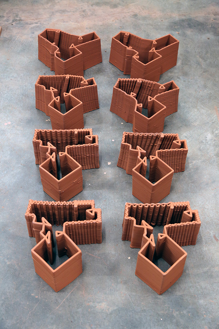 Digital Terracotta, Christian J. Lange, robotic 3d printing, Venice Biennale, Rocker Lange Architects