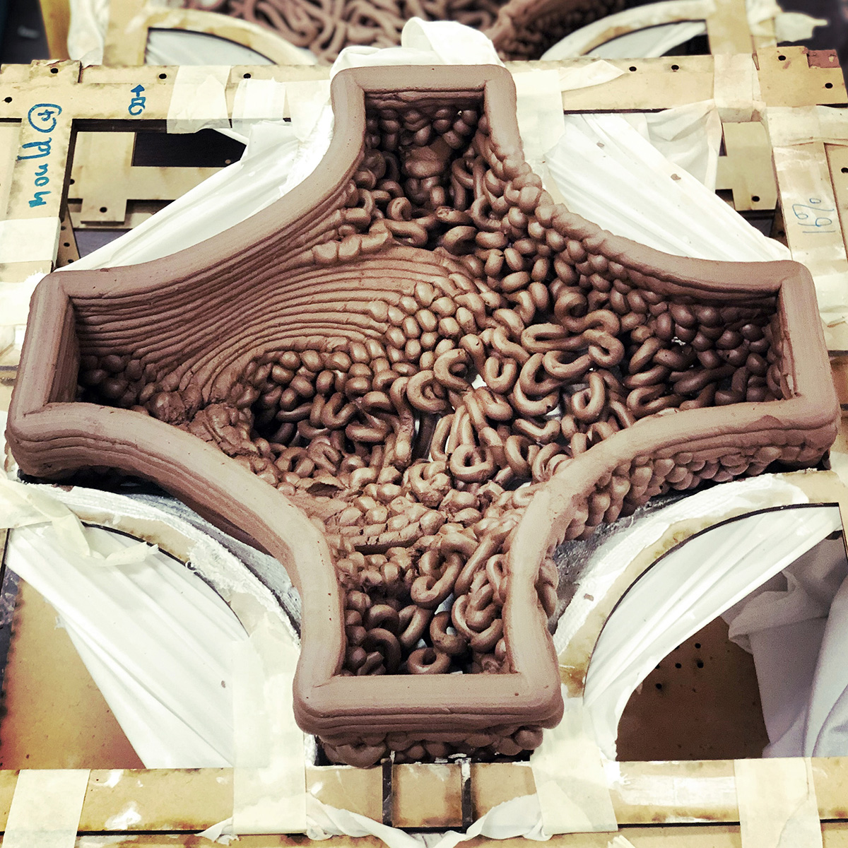 AUTOBRICKFORMATION, Christian J Lange, Ceramic Architecture, 3d printed terracotta, HKU, Faculty of Architecture