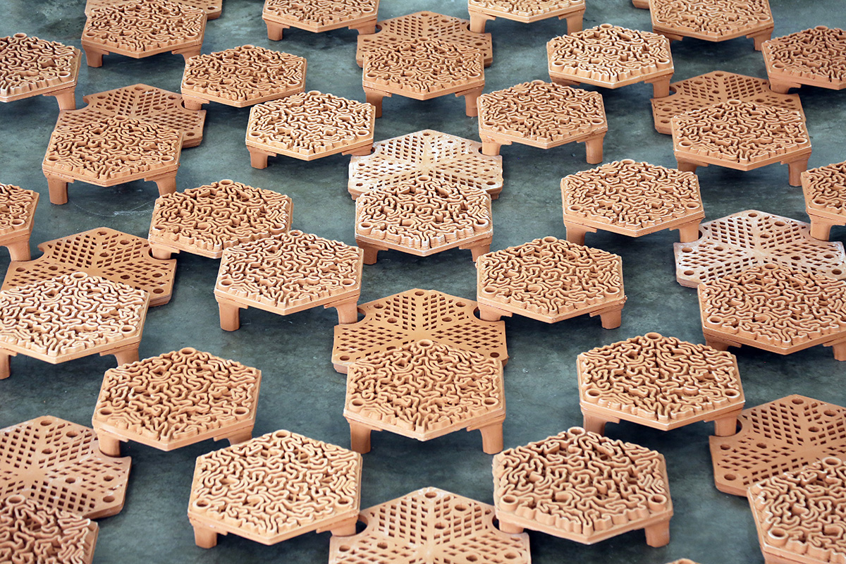 autobryks3D, artificial coral reef, 3d printed architecture, fabrication, 3d printed reef, Christian J. Lange, Reef Tiles, terracotta architecture, artificial coral reef, autobryks, Hong Kong, archireef, coral restoration