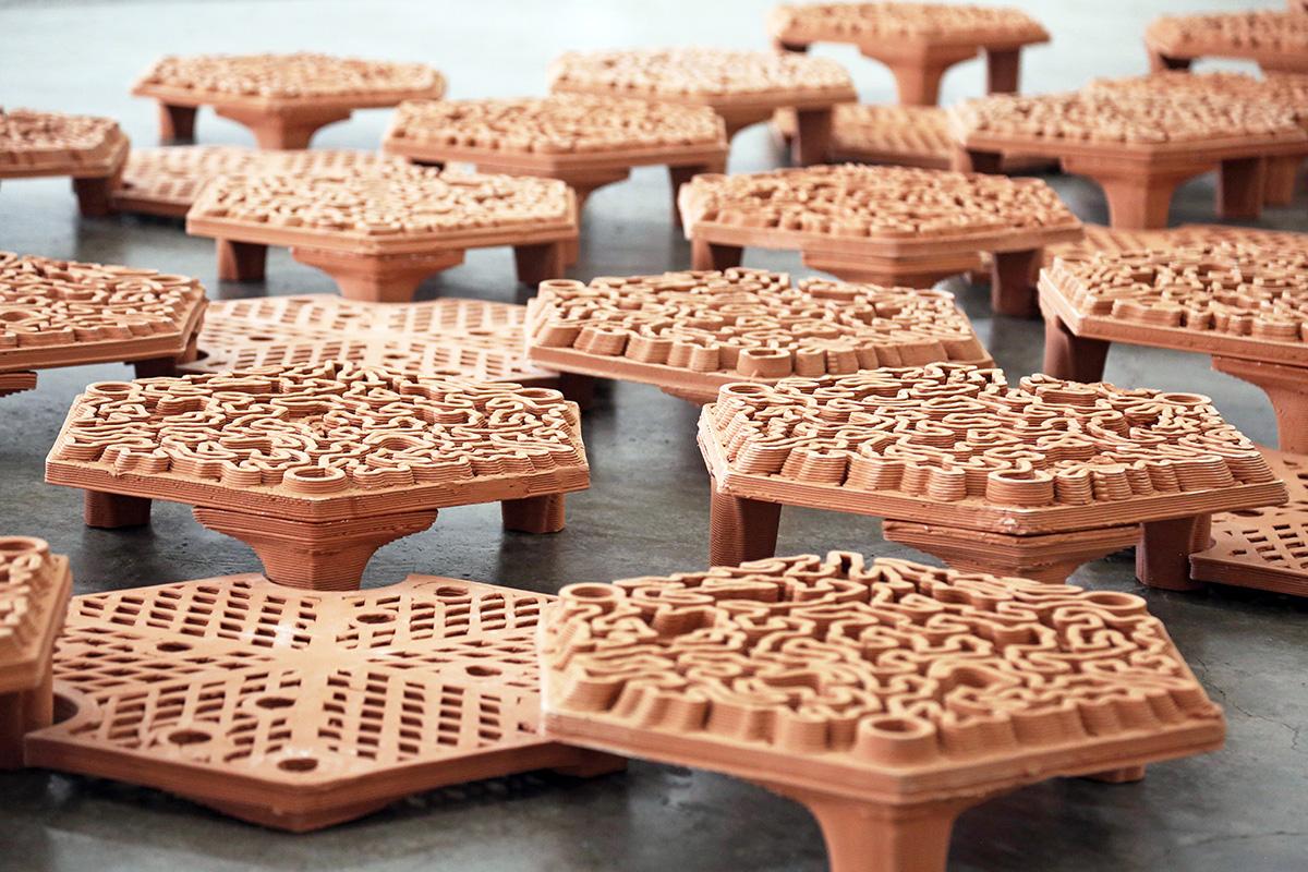 autobryks3D, Christian J. Lange, Hoi Ha Wan Marine Park, AFCD,  Robotic Fabrication Lab, Reef Tiles, 3d printed reef tiles, archireef, coral restoration, autobryks
