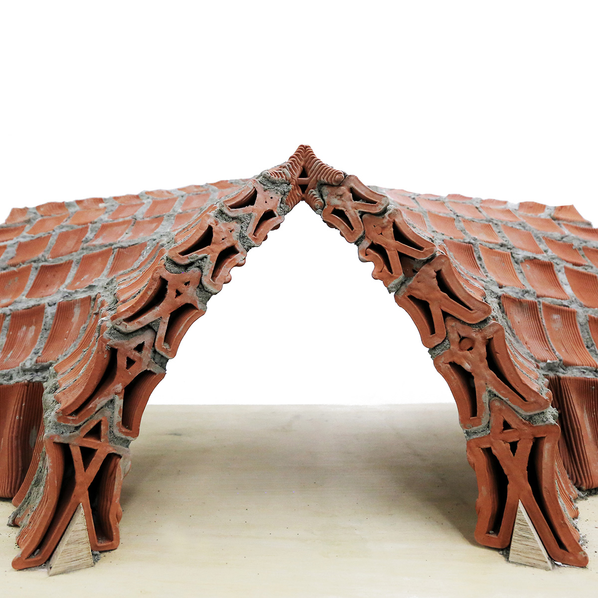 In Compression, autobrickformation, Christian J Lange, Faculty of Architecture, HKU, Brick Specials