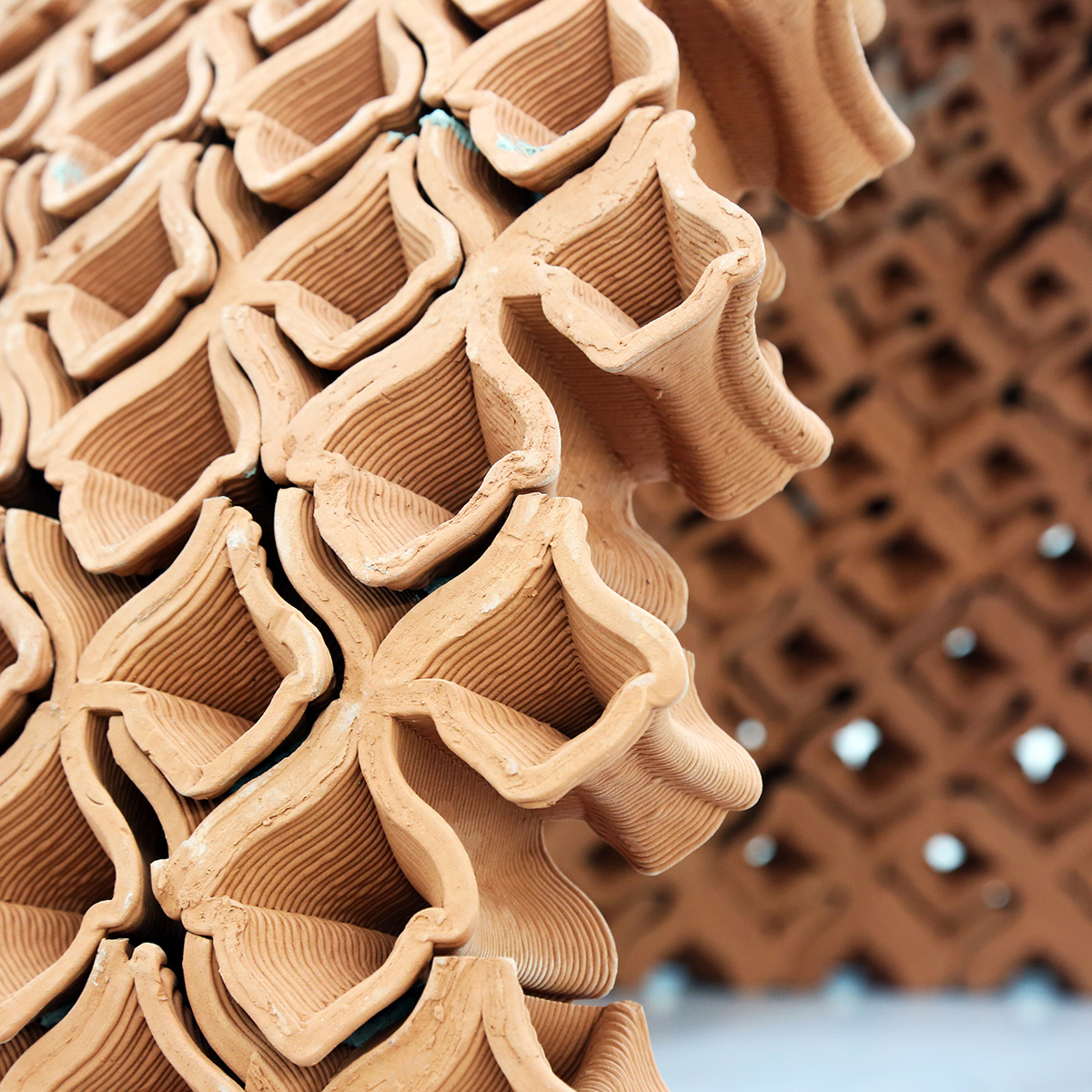 3d printing, Hong Kong, Terracotta, The University of Hong Kong, faculty of Architecture, MArch Studio, Christian J Lange