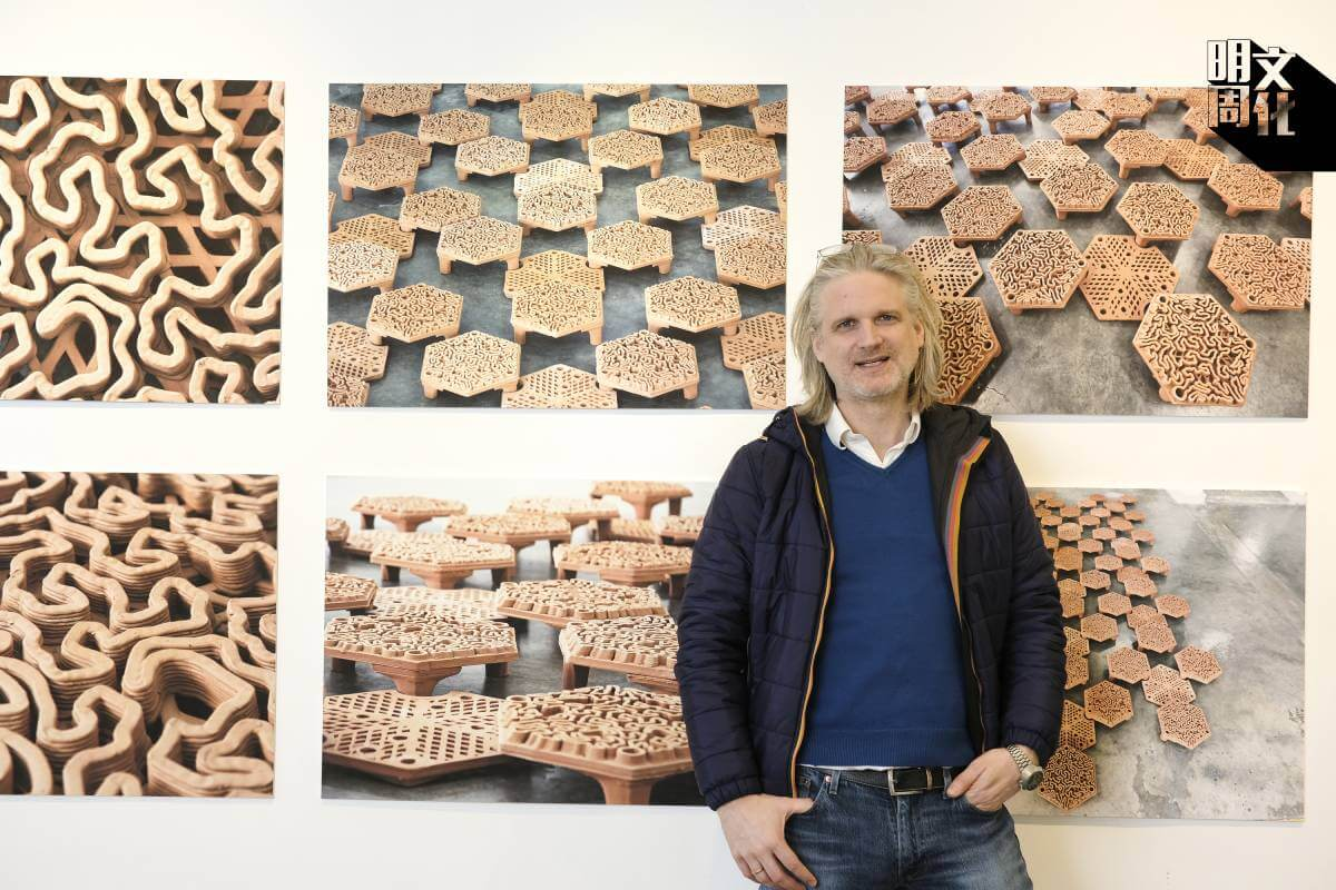 Christian J Lange, reformative Coral Habitat, Coral Restoration, Hoi Ha Wan Marine Park, Project for AFCD, PMQ exhibition, 3d printed coral reef tiles, autobryks3D, archireef